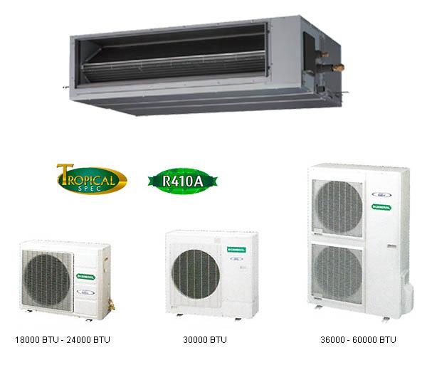 ducted split-indoor-outdoor